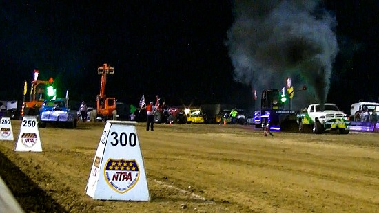 Diesel and Alcohol Truck Pull at the Exact Moment