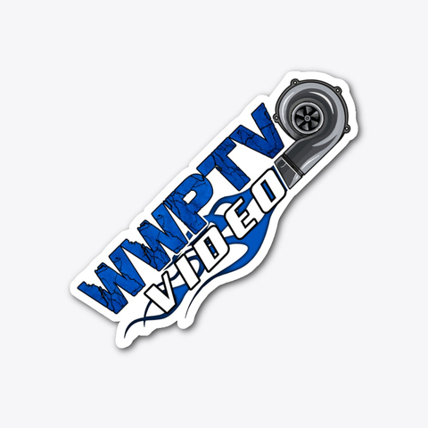 WWPTV Turbo Stickers
